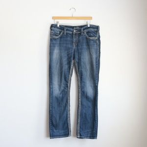 Silver Jeans Suki Straight size 14 Jeans